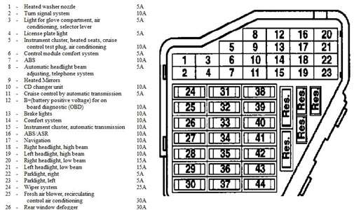 2000 vw passat wiring diagram