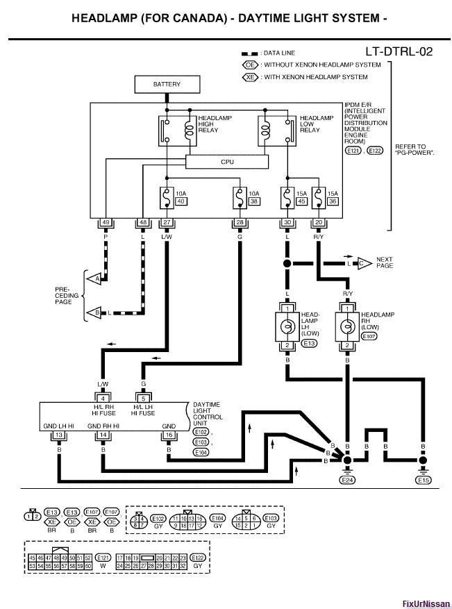 2005 nissan maxima engine wiring diagram