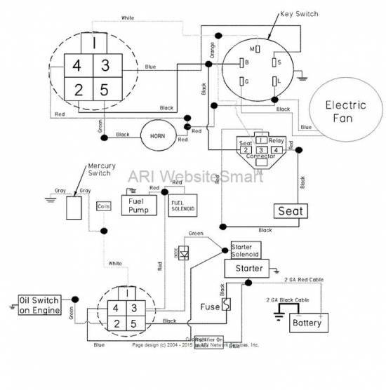 dixie chopper generac wiring diagram