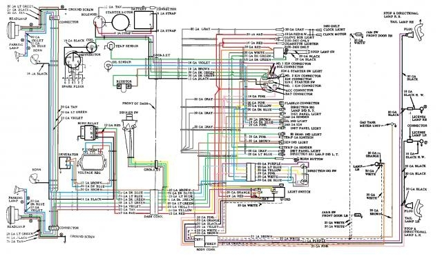 1957 chevy generator wiring diagram