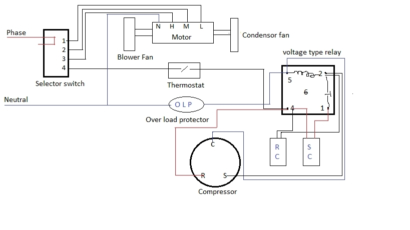 ac condensate pump wiring diagram