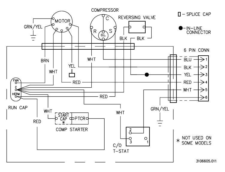 window unit air conditioner schematic