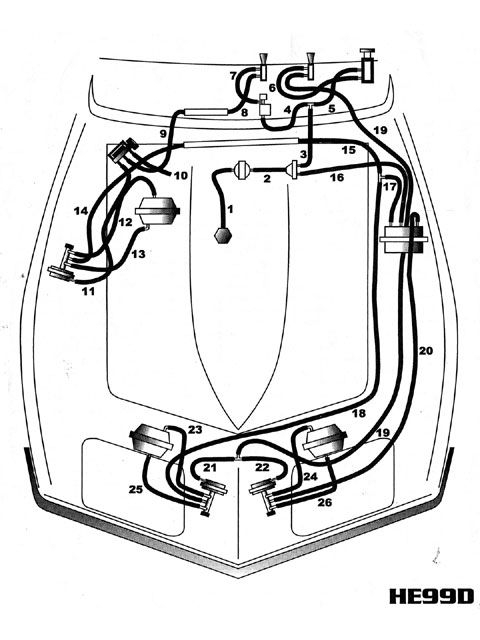 c4 corvette headlight wiring diagram