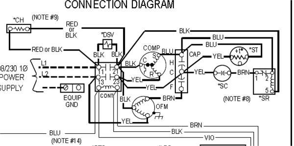 wiring diagram for coleman ac