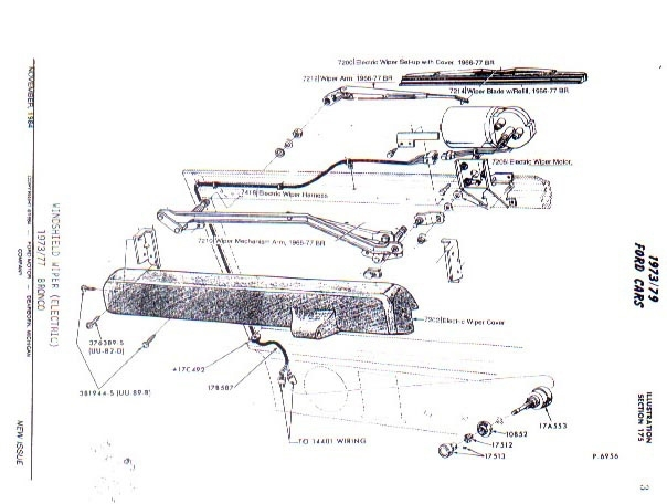 70 ford bronco wiring diagram
