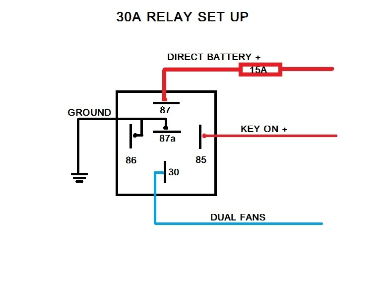 Ford Relay Wiring   Wiring Diagram on 4 prong horn relay, 4 prong starter relay, 4 prong relay harness, 5 prong relay wiring, 4 pole switch wiring,