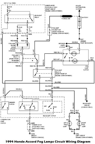 honda accord 2001 wiring diagram