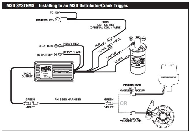 wiring diagram for mallory distributor