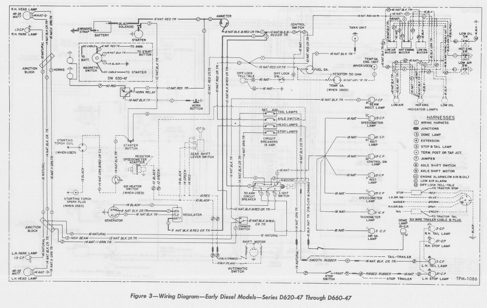 Fld Freightliner Basic Electrical Wiring Diagrams Wiring Schematic