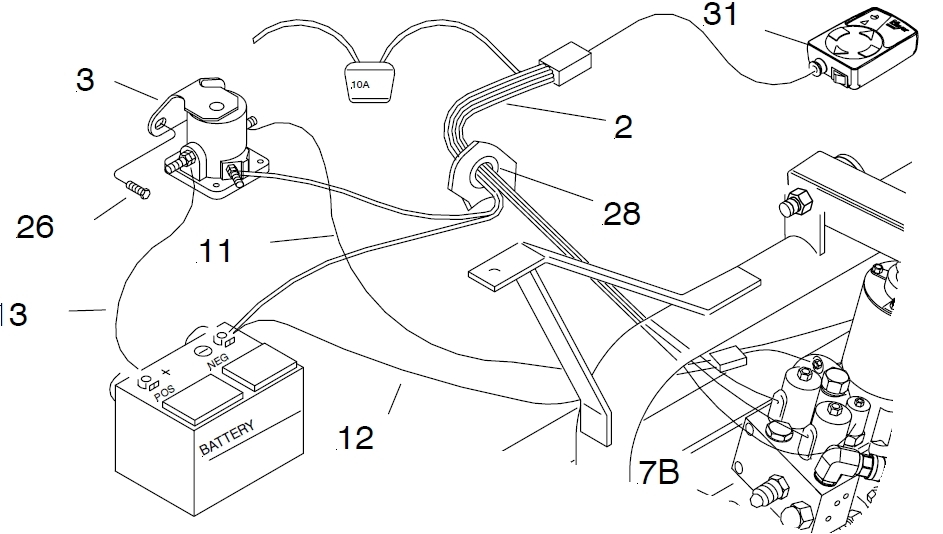 hiniker wiring harness diagram ford
