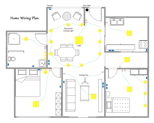 software house wiring diagram
