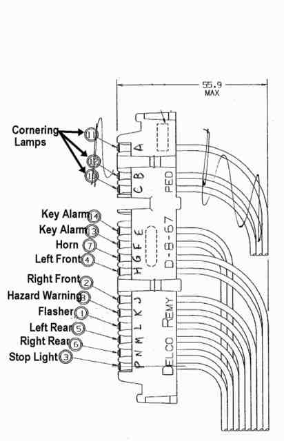 1955 corvette wiring diagram