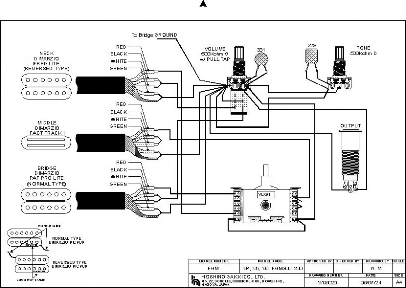 bass guitar wiring schematics diagram