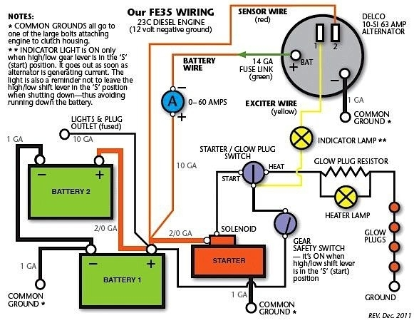 mf 65 tractor ignition switch wiring diagram