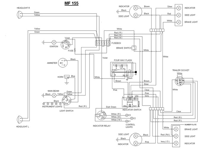 mf 175 wiring diagram