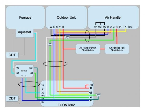 typical ac wiring diagram