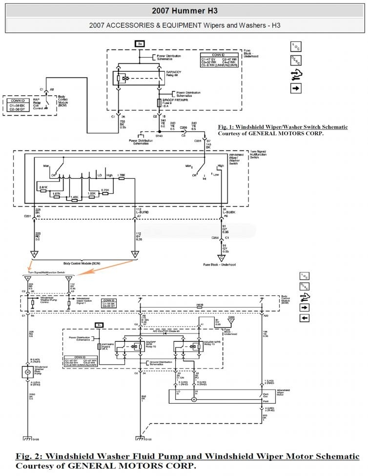 wiring diagrams for 2006 hummer h3