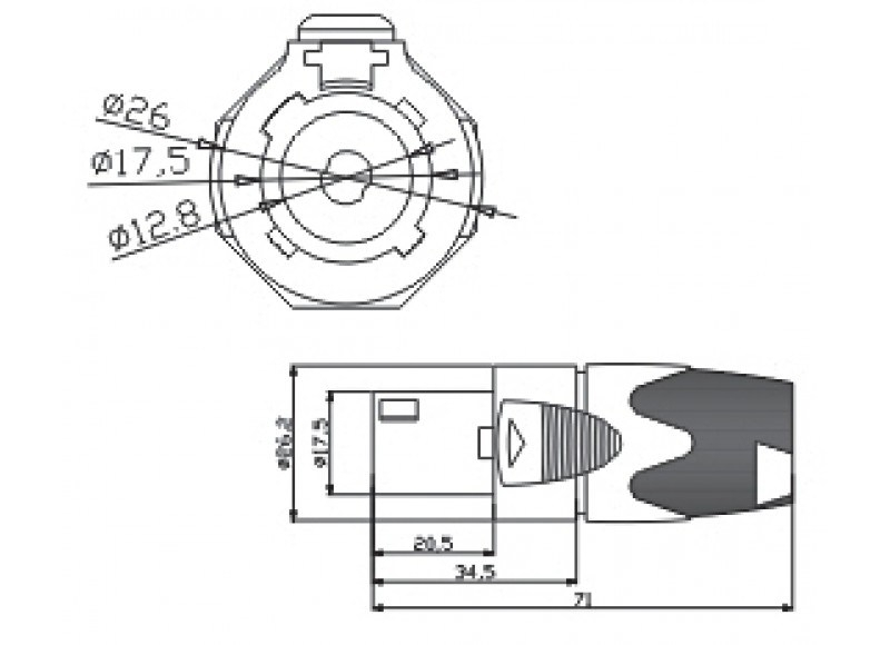 collection speakon connector wiring diagram pictures diagrams