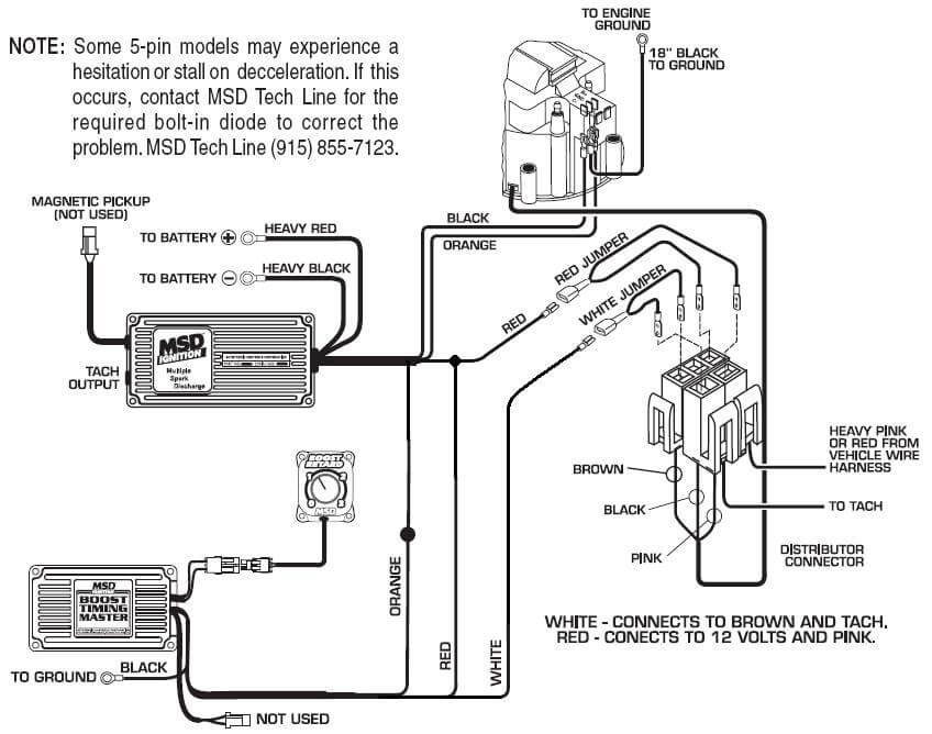 mallory ignition wiring diagram hei distributor