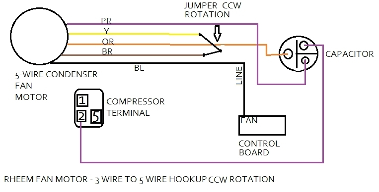 air conditioner condenser unit wiring diagram