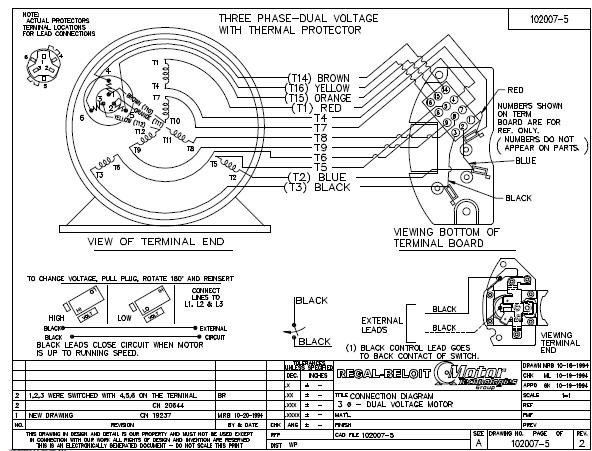 for marathon electric motor single phase wiring diagrams