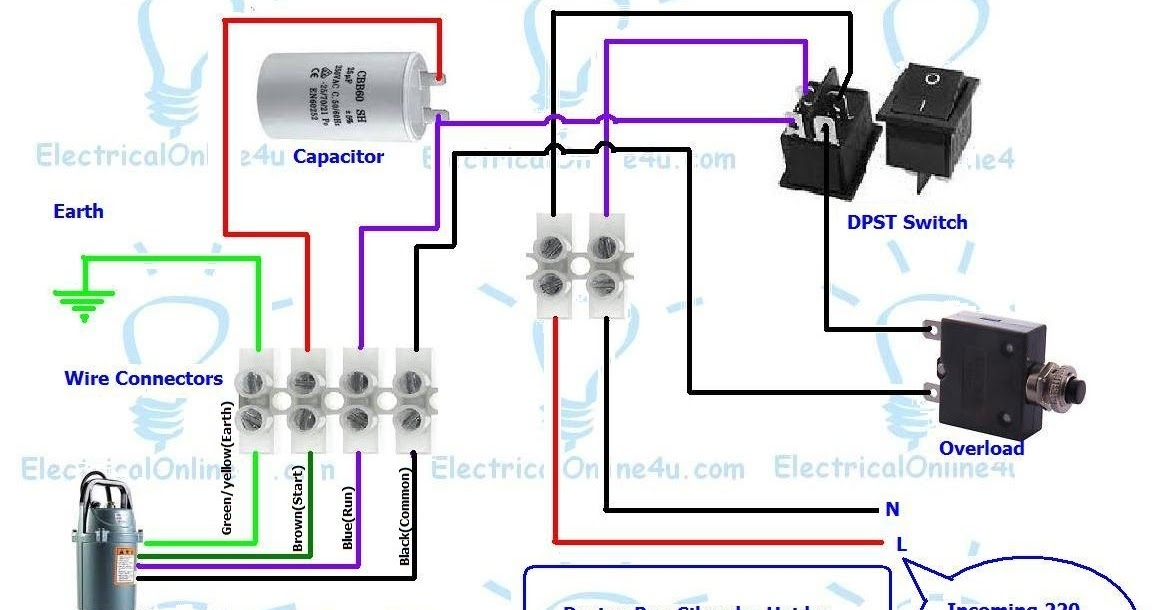 electric well pump wiring diagram
