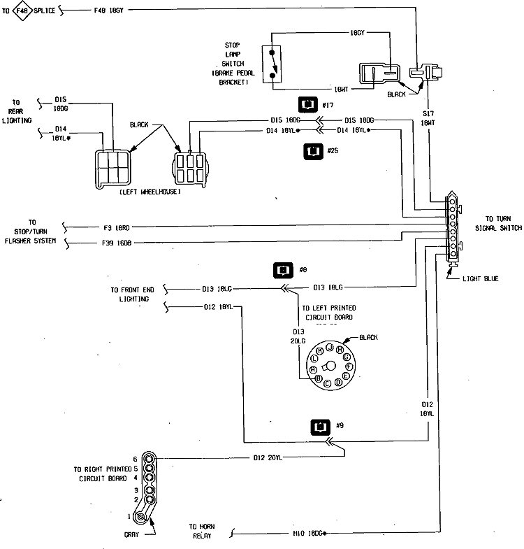 dodge charger tail light wiring diagram