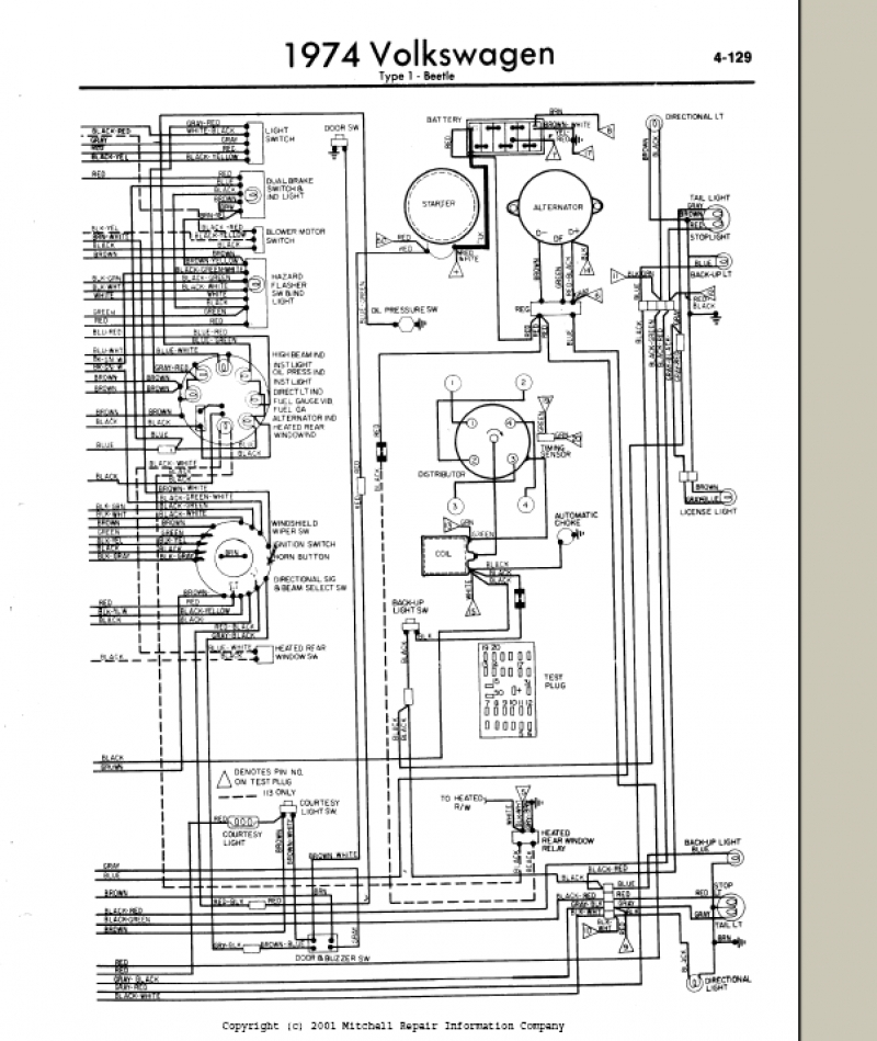 wiring diagram for 1974 vw super beetle vw buggy wiring vw dune buggy wiring harness 1974 vw buggy wiring #9