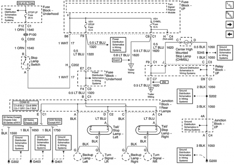 wiring diagram 02 tahoe