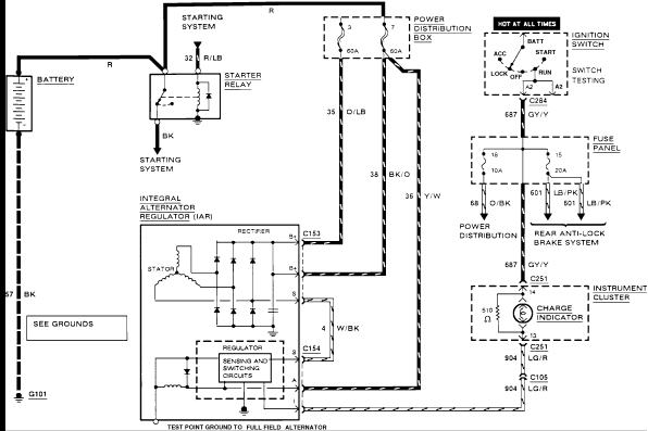 2009 ford f150 electrical diagram