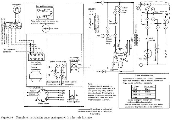 camper furnace wire diagram