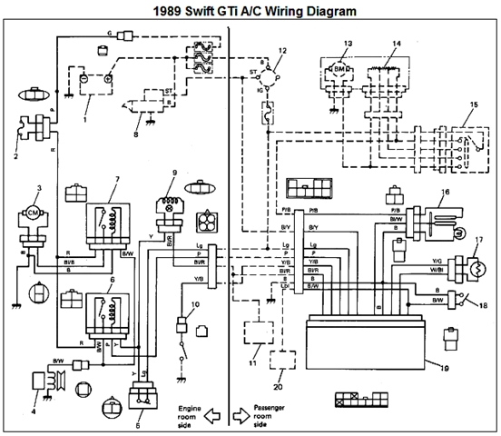 suzuki workshop wiring diagram