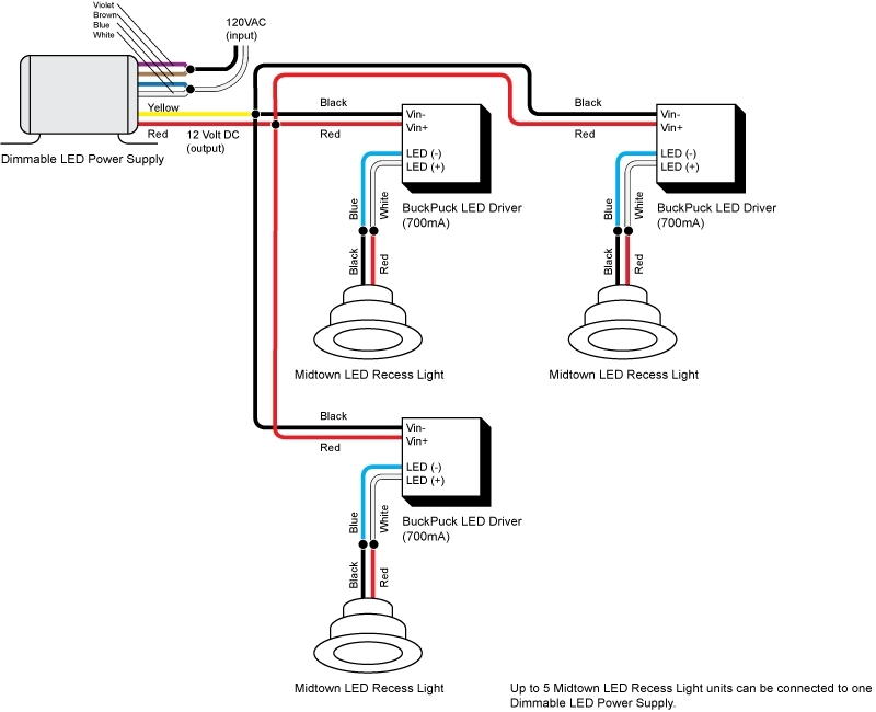 how to wire up downlights diagram