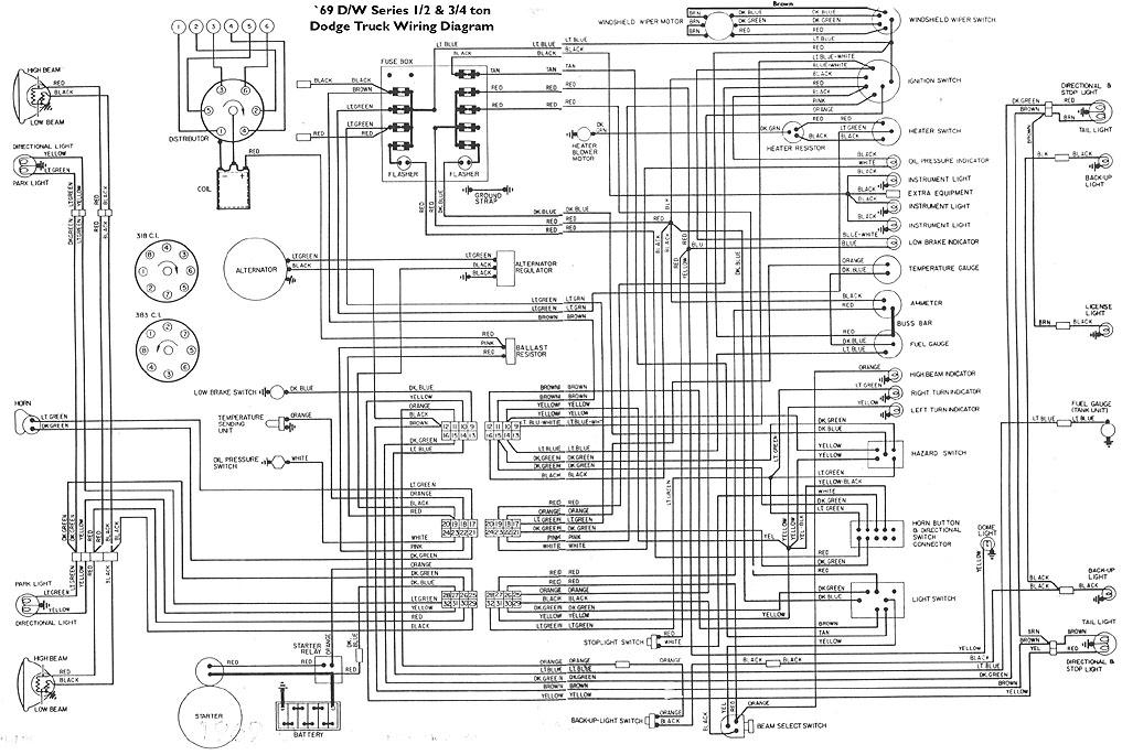 1974 dodge van wiring diagram