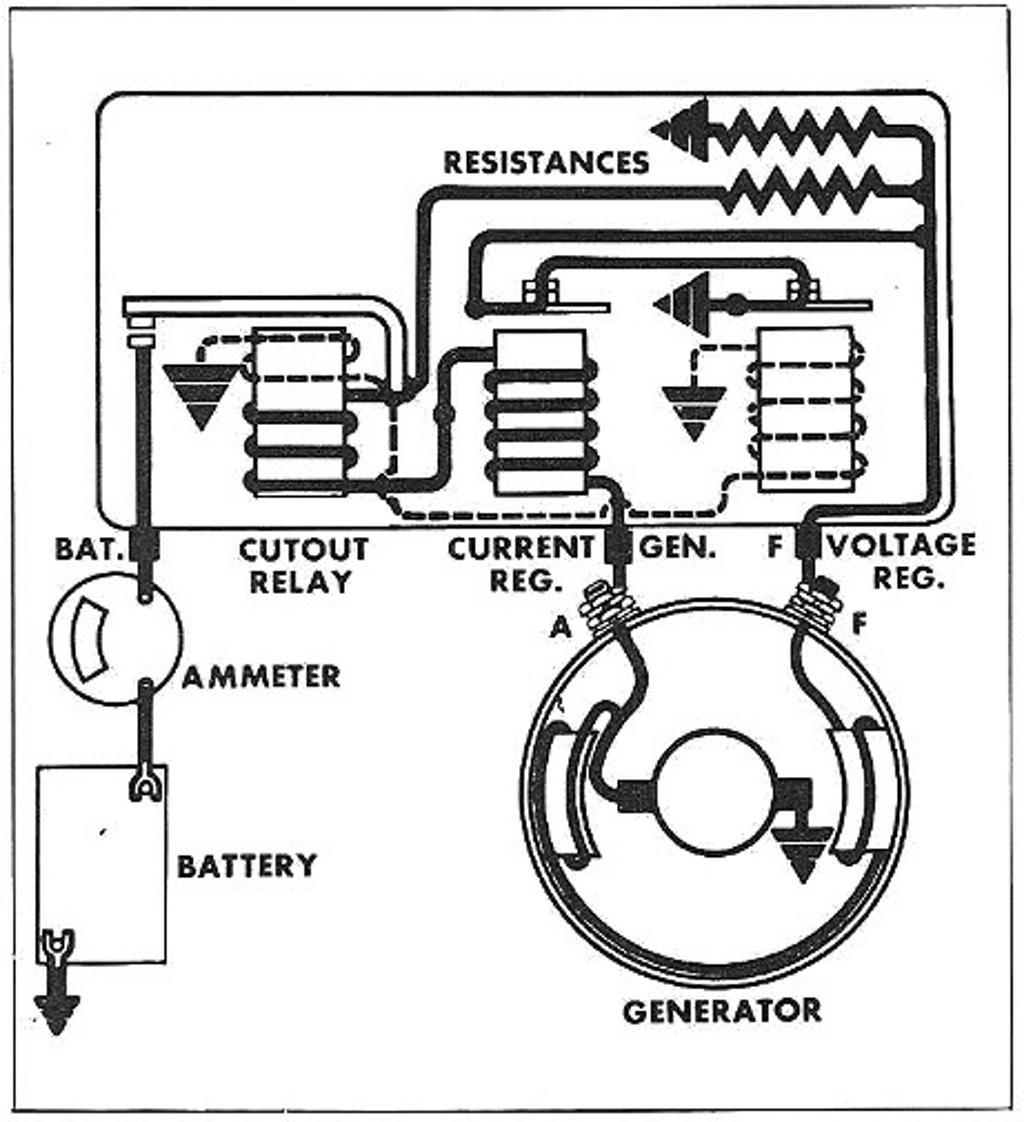 6 volt charging system wiring diagram