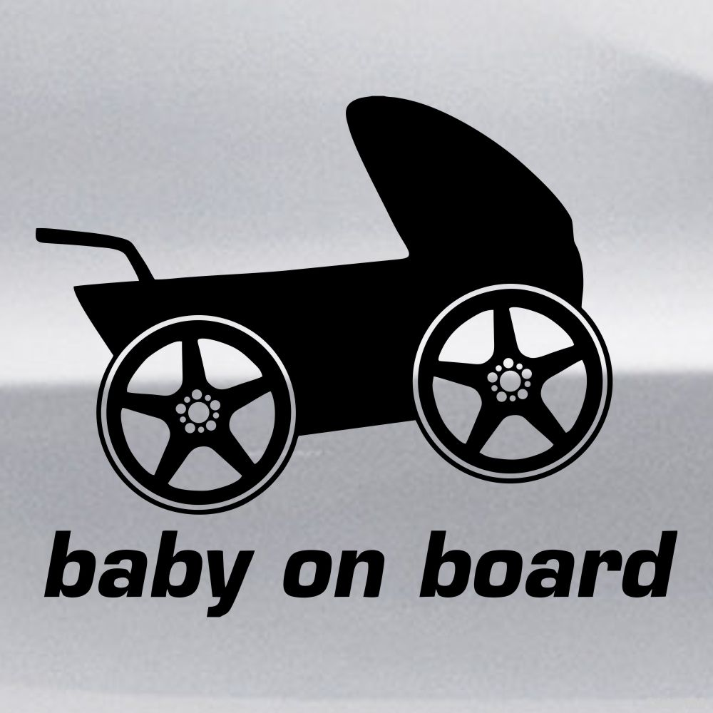 Stroller Car Race Decal Baby On Board Racing Stroller Buy Vinyl Decals For