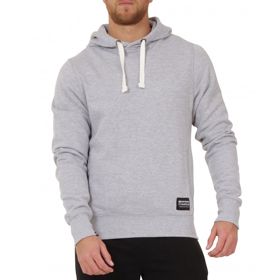 Pullover In Gym Stickman Gymwear Pullover Hoodie Heather Grey Sold Out