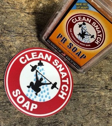 Clean Snatch Circle Stickers