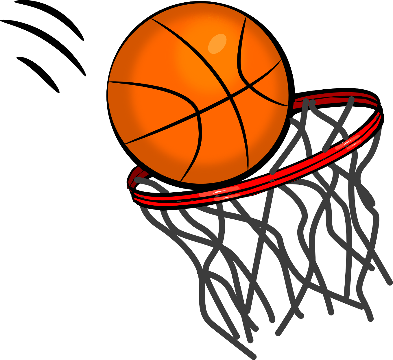 Basketball Ball Basketball Ring Transparent Png Stickpng