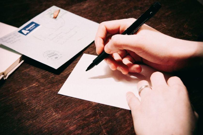 Brief einer Next. Foto: Stocksnap