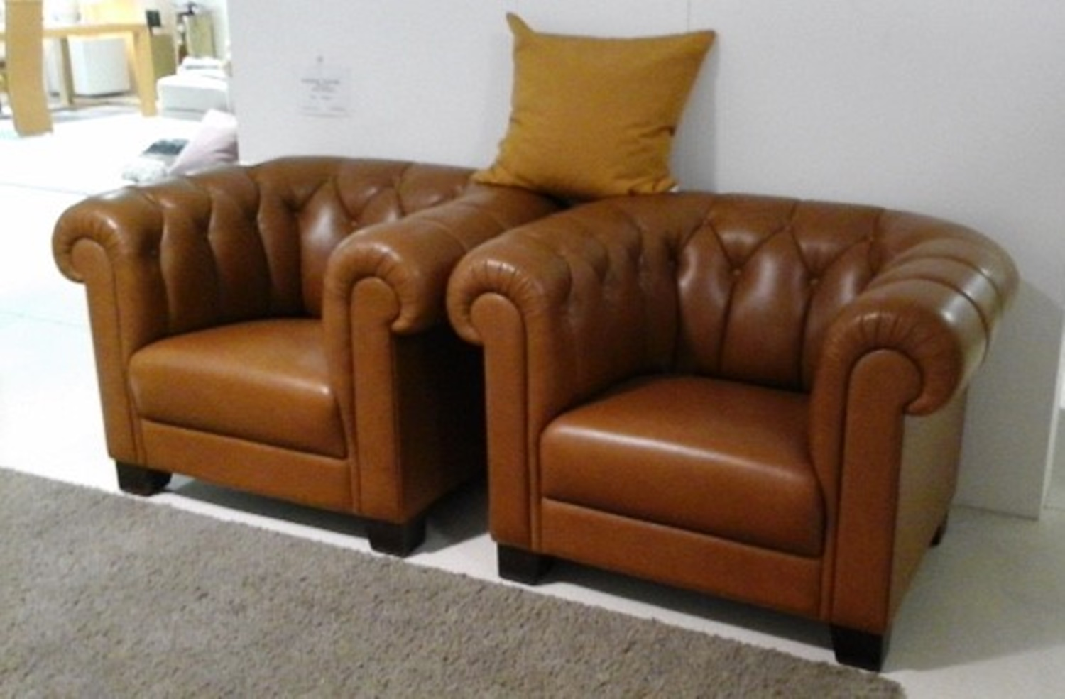 Sessel Chesterfield Zwei Chesterfield Sessel Stieglitz Wohnsinn