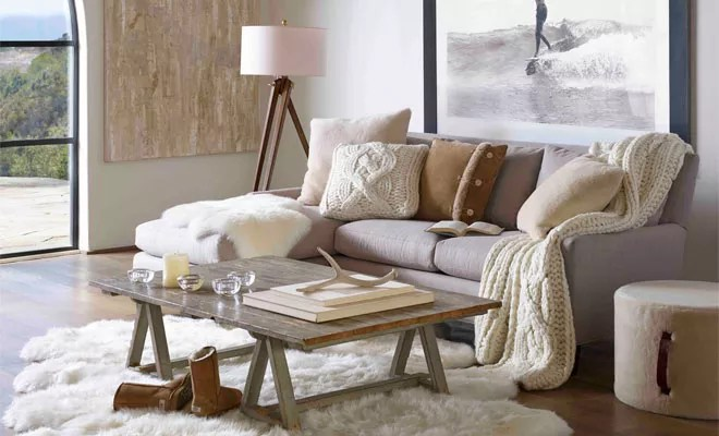 Pouf Exterieur Action Interieur | Ugg Australia Introduceert 'cosy' Home