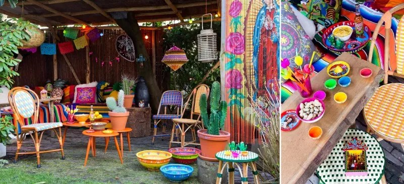 Windlicht Decoratie Feest Styling | Tuinfeest Decoratie Trends 1 - Mexicaanse