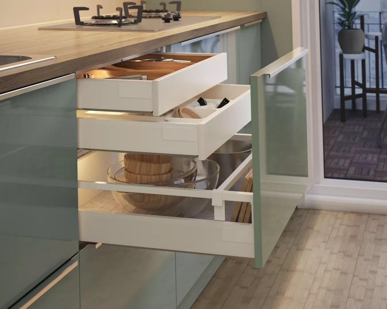 Keuken Ikea Beige : Ikea küche voxtorp beige showroomkeukens alle showroomkeuken