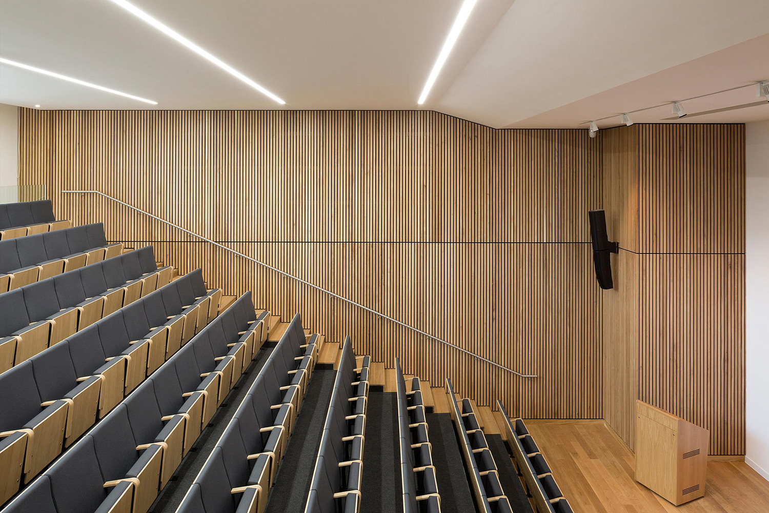 Vertical Wood Slat Wall Slatted Timber Suspended Ceilings Slatted Timber Wall Panels