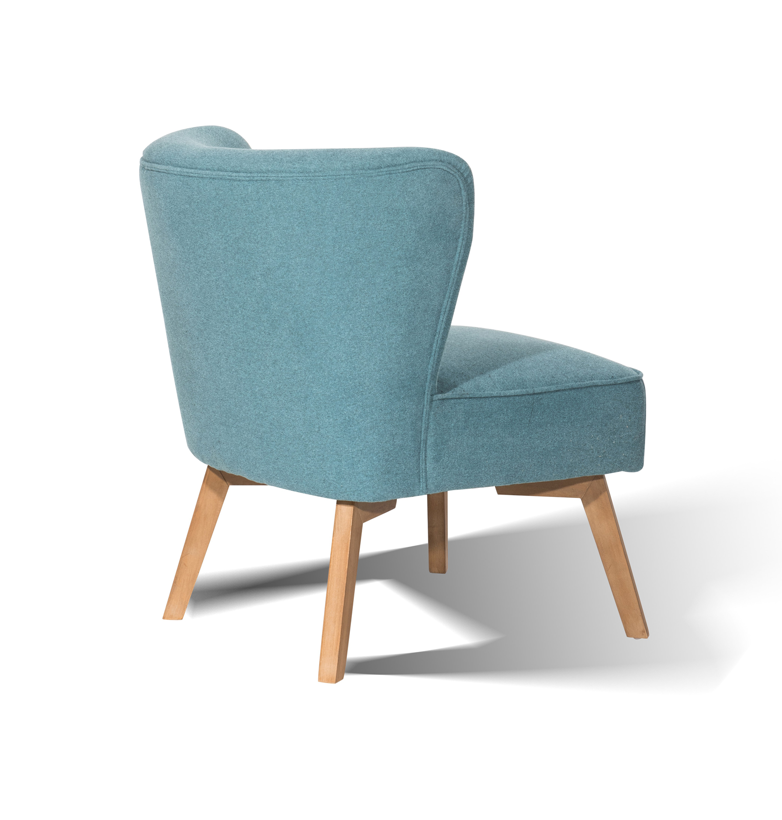 Scandi Sessel Sam Design Ohrensessel 4736 15 Blau Hevea Sit