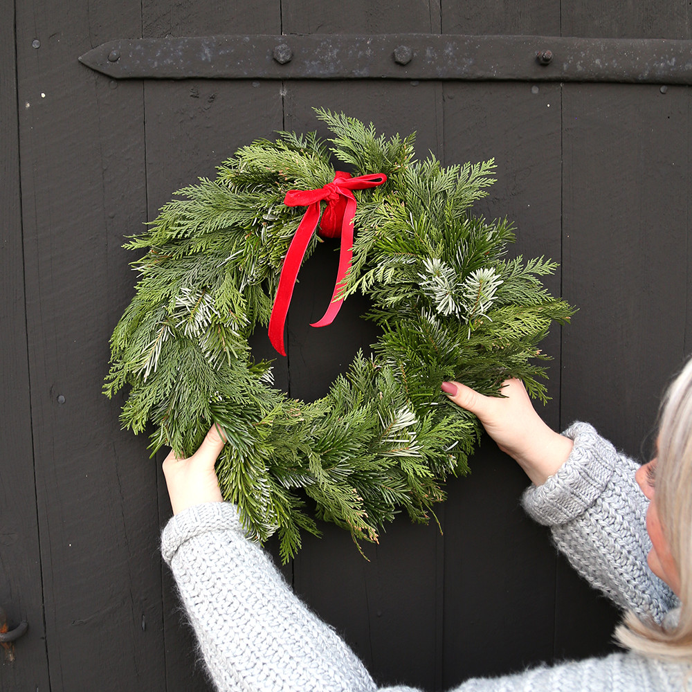 Step Accessoires Diy Holiday Wreath Tutorial