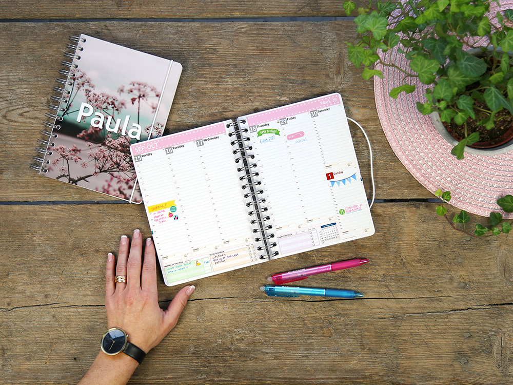 Custom Diary 2019  2020 - Create your own at personalplanner