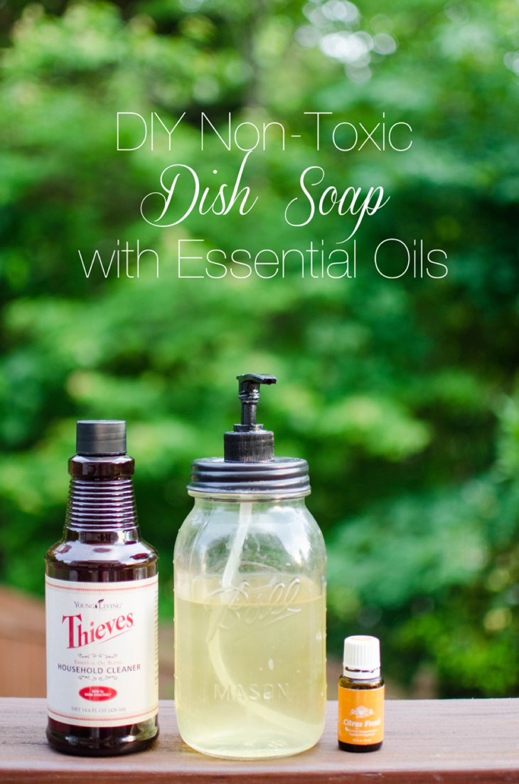 Diy Soap Essential Oils Easy Diy Non Toxic Dish Soap Still Being Molly