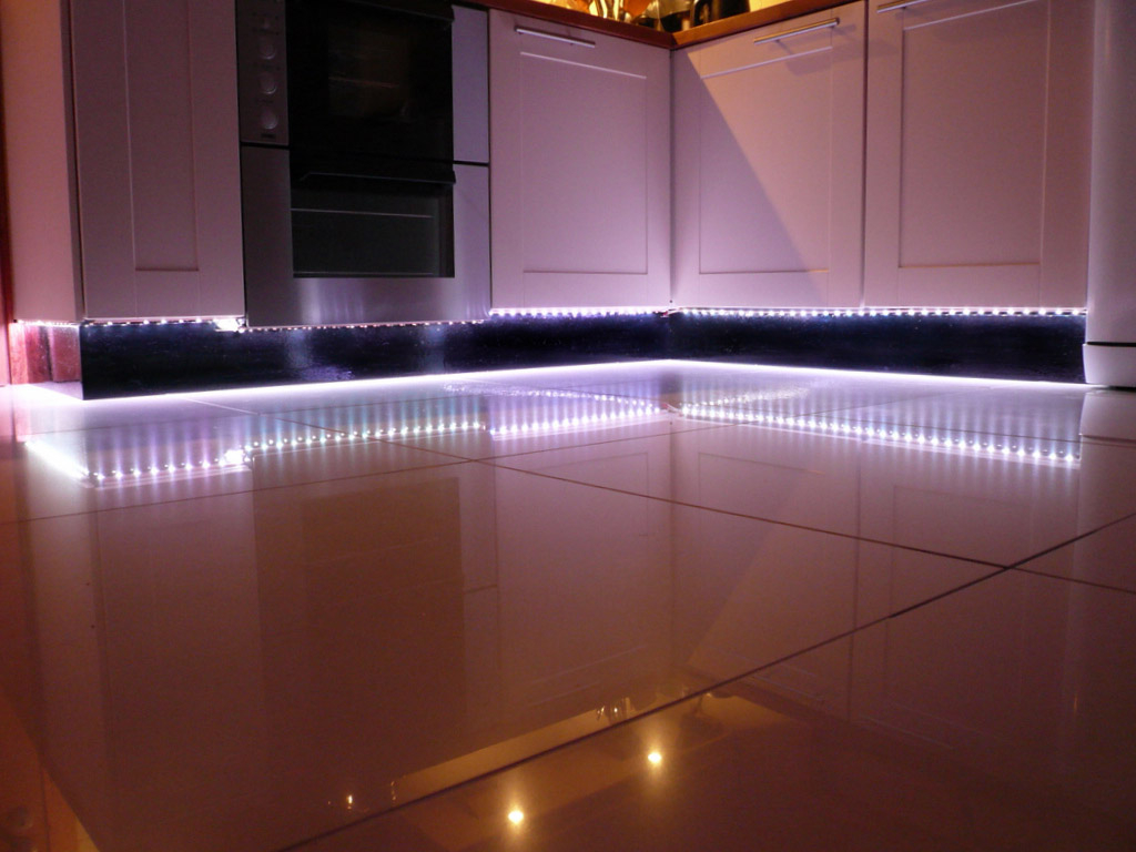 Led Light Strips Under Counter Waterproof High Density White Led Strip Light 11 Key Remote